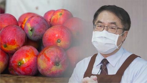 台南芒果季來了!黃偉哲賣力促銷拚買氣
