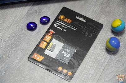 超大容量 讀寫快速 AGI 亞奇雷 microSDXC UHS-I V30 A2 U3 1TB 記憶卡 開箱 評測