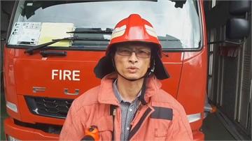 住警器大響 救一家三口性命 除濕機自燃引火警 急奔頂樓逃生