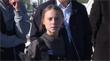 「環保少女」桑柏格為參加氣候峰會 搭船20天抵達里斯本