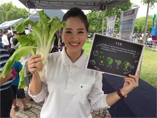 世界地球日舉辦蔬食無痕野餐活動 唐美雲現身響應