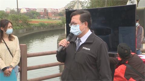 快新聞/王美花提鑿井取水掀議 鄭文燦:地下井備援是很正常的