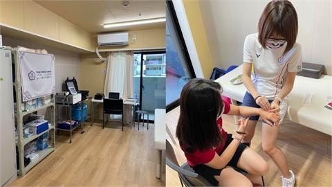 最強後盾!美女中醫師開箱「台灣奧運隊醫務室」 意外目擊射箭女將針灸「這部位」