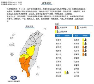 吳德榮:南部已連7天高溫警示 炎如盛夏估至17日