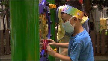 林口長庚院內打造共融遊戲場 專家:幫助兒童發展