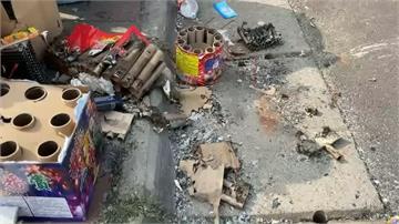 南寮漁港湧現觀光人潮 垃圾多亂象叢生