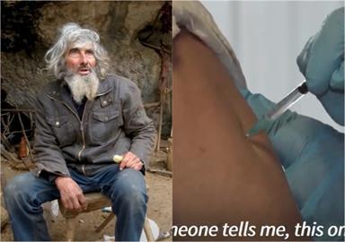 70歲男隱居洞穴20年為「打疫苗」下山!馬斯克也發文驚嘆