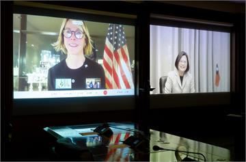 快新聞/蔡英文視訊美駐聯大使 外交部:凸顯美方堅定支持台灣參與國際組織