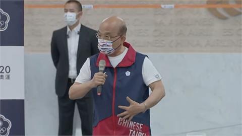 快新聞/「台灣隊」68名健兒出征東奧  蘇貞昌:國人會做選手們的後盾