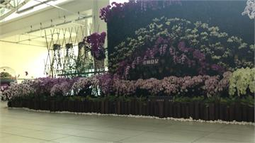 車站花藝裝置變告別式現場?網譏「只差照片」