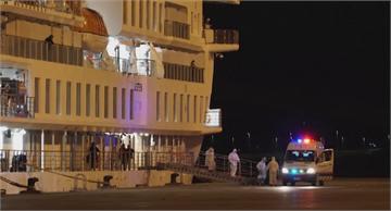 澳洲郵輪逾百人確診 烏拉圭外海漂兩週終於撤離部分乘客