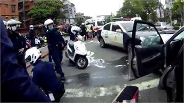 板橋上演警匪追逐!警連開12槍當場逮人