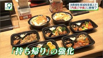日本10%消費稅上路在即「外帶」減稅另類商機