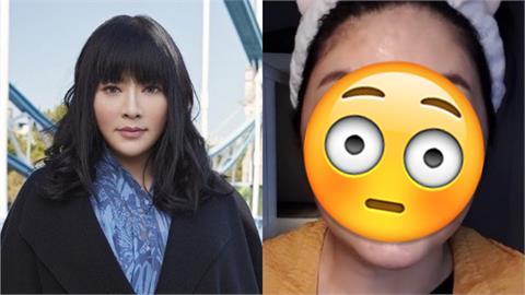 招牌妹妹頭消失 唐綺陽「大秀額頭+素顏」嬌喊:好害羞!