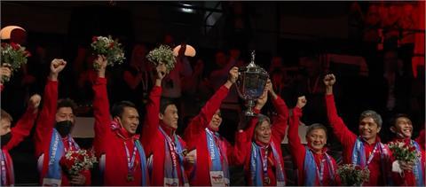 湯優盃最後高潮粉碎中國連霸夢 印尼男團奪睽違19年冠軍