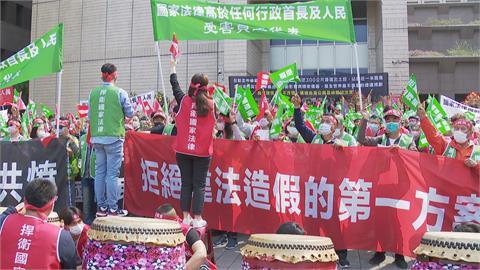憂北環段動土衝擊周邊交通科技廠業者近千人赴北市府抗議