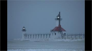 美國中西部暴風雪 芝加哥零下46度比南極冷