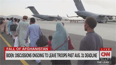 快新聞/撤僑專機遭阿富汗武裝分子劫持 百名烏克蘭人滯留喀布爾