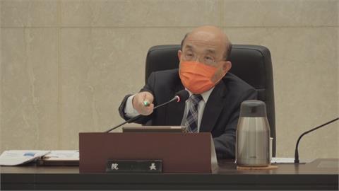 蘇揆週三接見8位新任縣市警察局長 掀波瀾