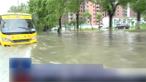 暴雨肆虐! 廣西山洪爆發毀民宅 安徽河水倒灌多人受困