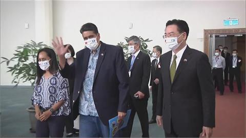 快新聞/惠恕仁上任首次出訪落幕 外交部:台帛兩國邦誼更加堅實穩固