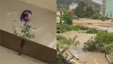 俄羅斯索契市遭雨襲變汪洋 「 660民宅遭淹、1死2傷」彭啟明:這是街道啊!