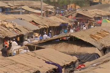 孟加拉雨季將至 洛興雅難民恐遭洪災威脅