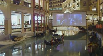 購物中心乘貢多拉看電影 菲律賓防疫娛樂兼顧