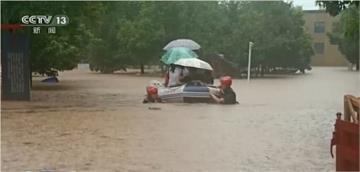 長江流域水患持續 湖南逾六百萬人受災