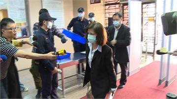 丟掉大同經營權後... 林郭文艷首度現身  低頭進法院 面對華映官司反駁相關指控