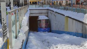 南歐兩樣情 西班牙大雪阻交通希臘現暖冬