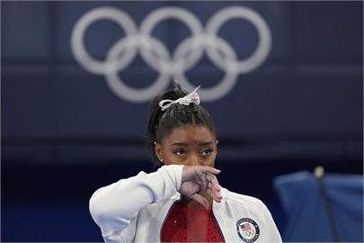美國體操天后拜爾絲 再退出東奧兩場決賽