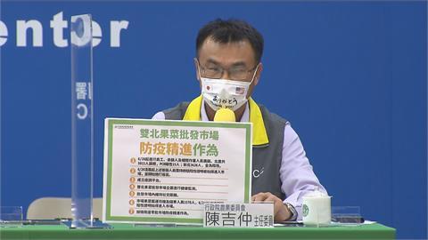 快新聞/雙北果菜市場7大精進作為曝光 陳吉仲:成立疫調平台