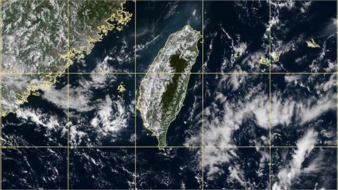 衛星雲圖台灣出現「幸運號碼」藏玄機?鄭明典笑:報明牌嗎