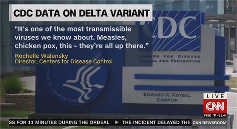 美CDC文件曝光 完全接種傳播Delta能力同未接種