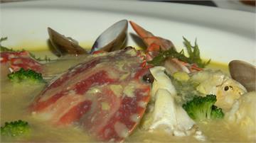 三點蟹搭起司  台粵融合烹出鮮甜濃郁