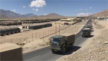 中印邊境緊張未解 印軍展開物流演習