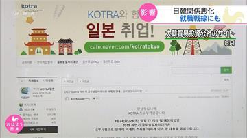 貿易戰掀波!日韓跨國徵才博覽會一度喊卡