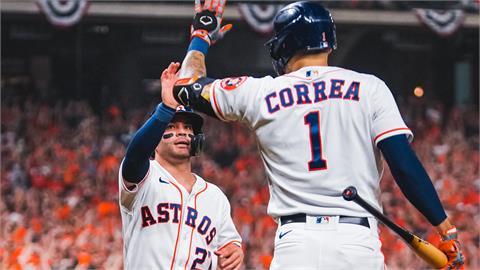 MLB/柯瑞亞、阿圖維開轟!太空人首戰勝紅襪