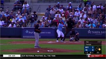 MLB/光芒筒香嘉智敲首安 洋基安杜哈開轟