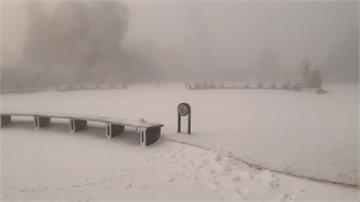 太平山假日湧追雪車潮 回堵5至6公里