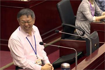 陳菊若選北市長?柯文哲:台北市民素質滿高的
