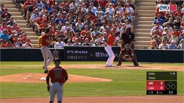 MLB/印地安人兩台將 張育成敲安打、朱立人選保送