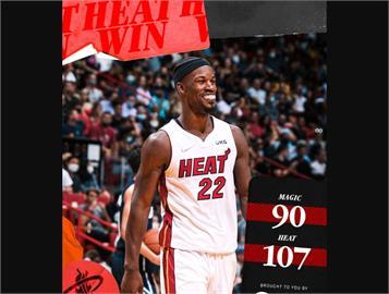 NBA/巴特勒砍全隊最高36分 率熱火擊敗魔術