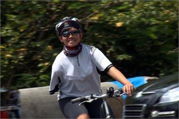 獨臂女孩環島騎車圓夢 為未來加油打氣