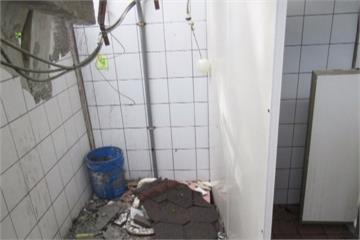 南安瀑布公廁遭砸毀 步道暫時封閉