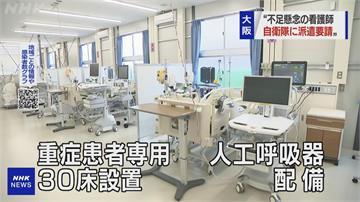 大阪、北海道極缺醫護人力 請求自衛隊醫官支援