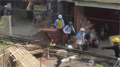 萬人無懼上街! 緬甸政變首名死者男友誓言反抗