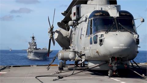全球/圍堵中國擴張野心 六國軍艦集結南海演習