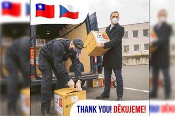 快新聞/報告施政不忘感謝台灣 !布拉格市長賀吉普:謝謝疫情期間的口罩援助